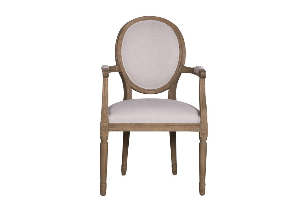 Finest fauteuil medy de flamant beige with meuble flamant for Meubles flamant