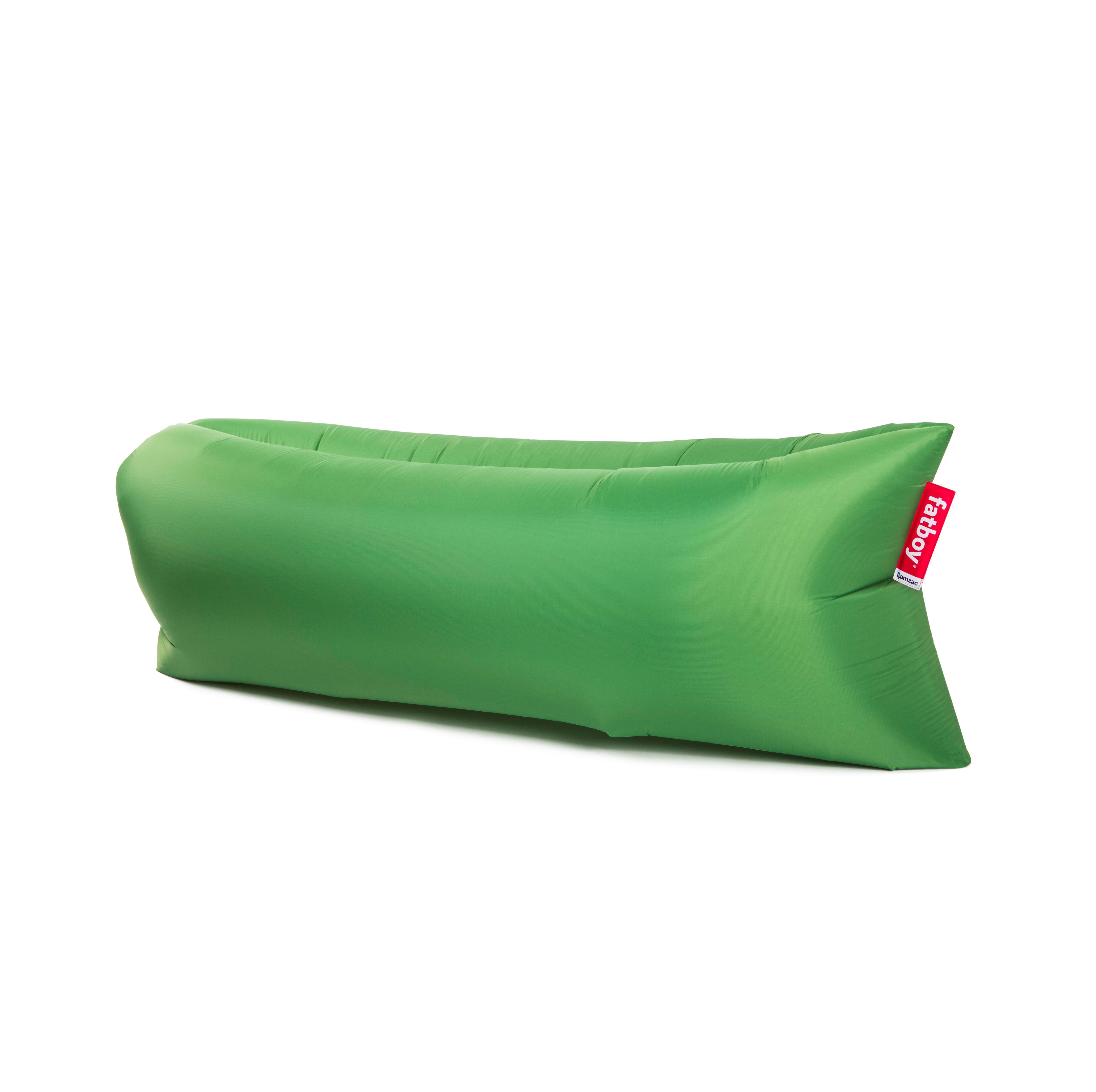 sofa chaise longue gonflable lamzac the original de fatboy vert prairie. Black Bedroom Furniture Sets. Home Design Ideas