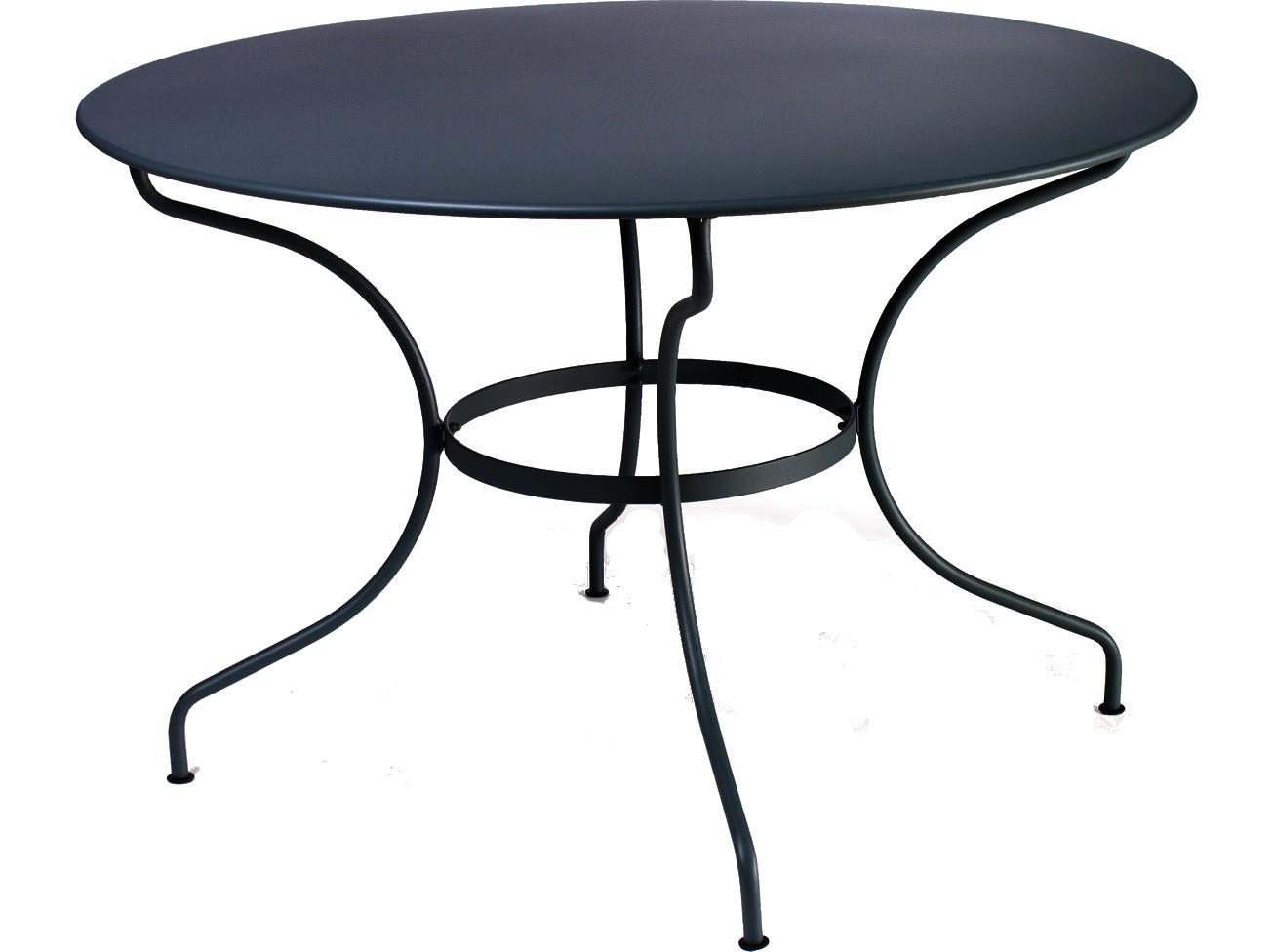 table ronde noir. Black Bedroom Furniture Sets. Home Design Ideas