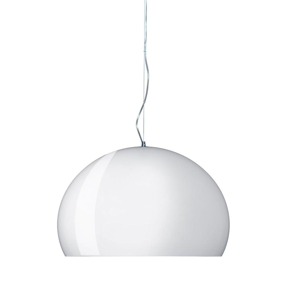 lampe fl y opaque de kartell 3 tailles 2 coloris. Black Bedroom Furniture Sets. Home Design Ideas