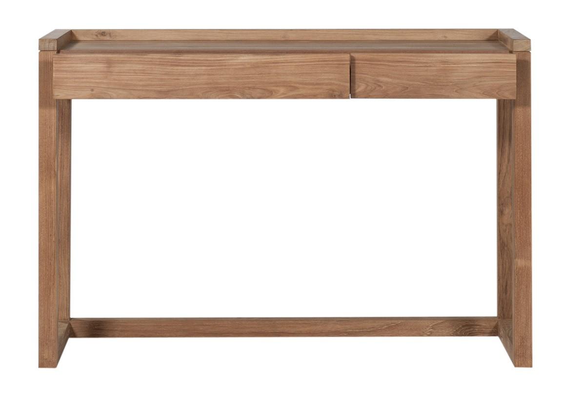 bureau frame en teck d 39 ethnicraft. Black Bedroom Furniture Sets. Home Design Ideas