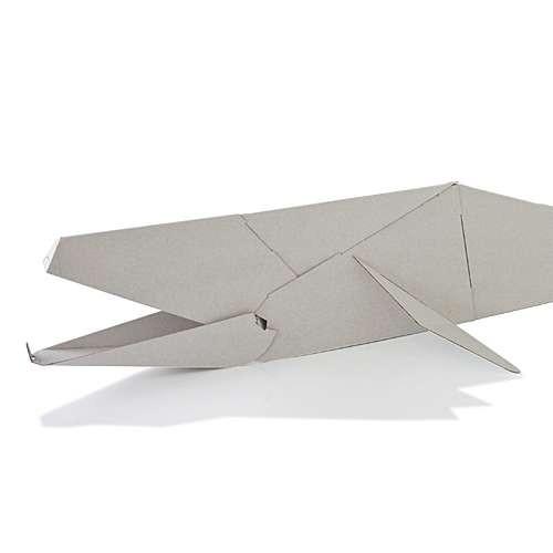 figurine d 39 animaux en carton my zoo de magis small baleine. Black Bedroom Furniture Sets. Home Design Ideas