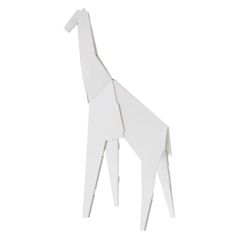 figurine d 39 animaux en carton my zoo de magis small girafe. Black Bedroom Furniture Sets. Home Design Ideas