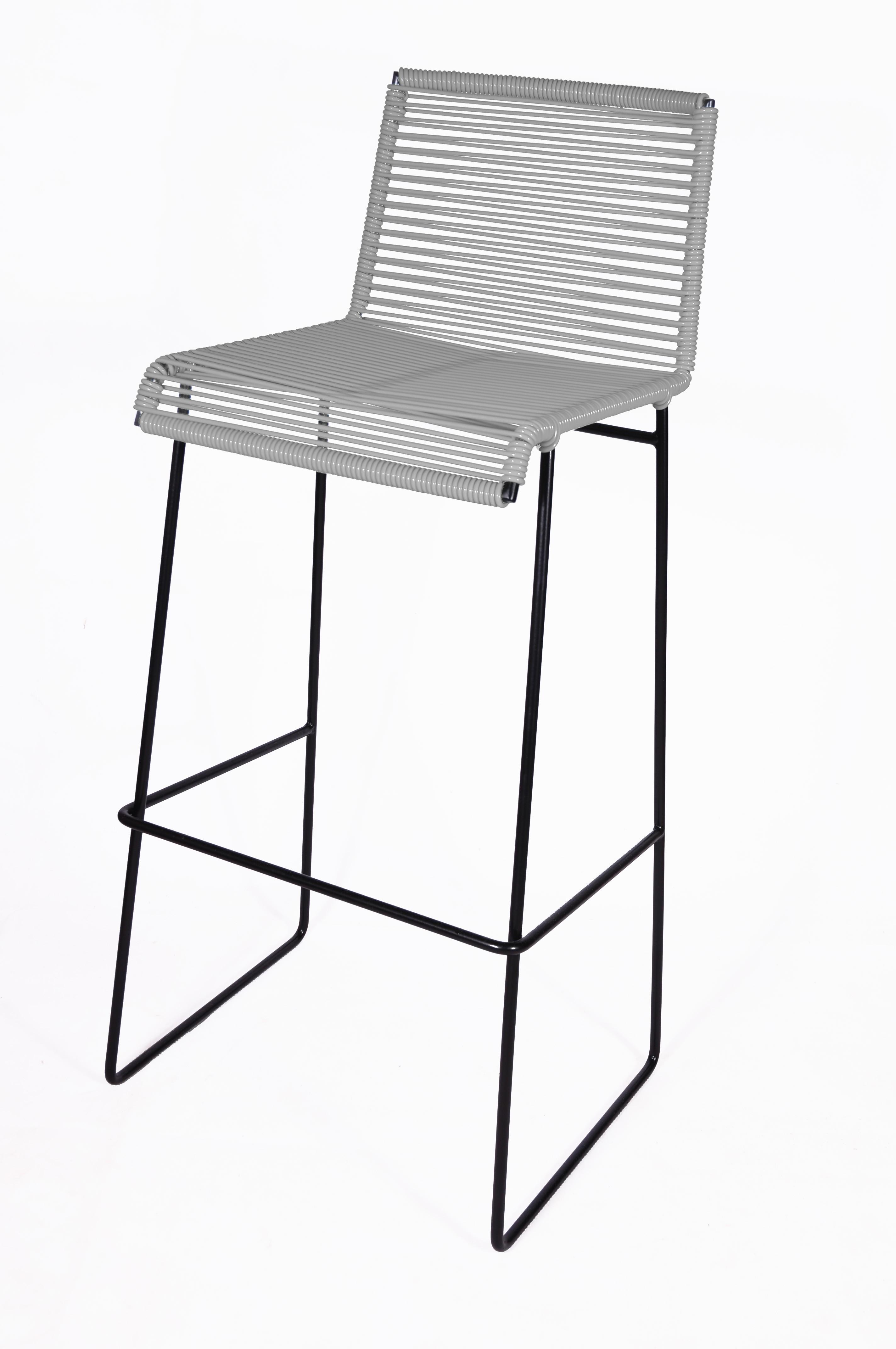 tabouret de bar gran cenote de boqa gris fer. Black Bedroom Furniture Sets. Home Design Ideas