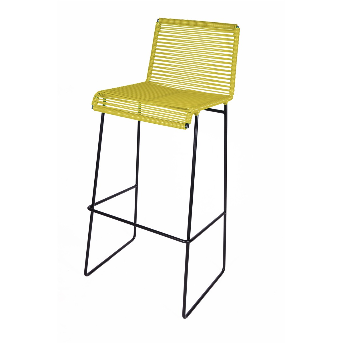 tabouret de bar gran cenote de boqa jaune moutarde. Black Bedroom Furniture Sets. Home Design Ideas