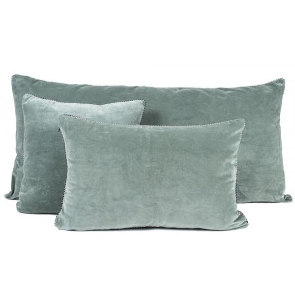 coussin en coton 45 x 45 cm dehli de harmony c ladon. Black Bedroom Furniture Sets. Home Design Ideas