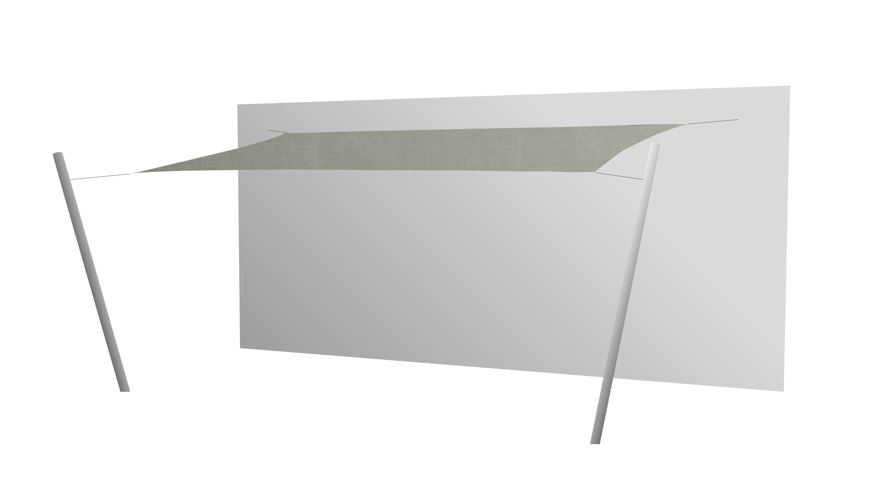 Toile Ombrage Au Metre voile d'ombrage rectangulaire 5x3 ingenua de umbrosa, 4 coloris
