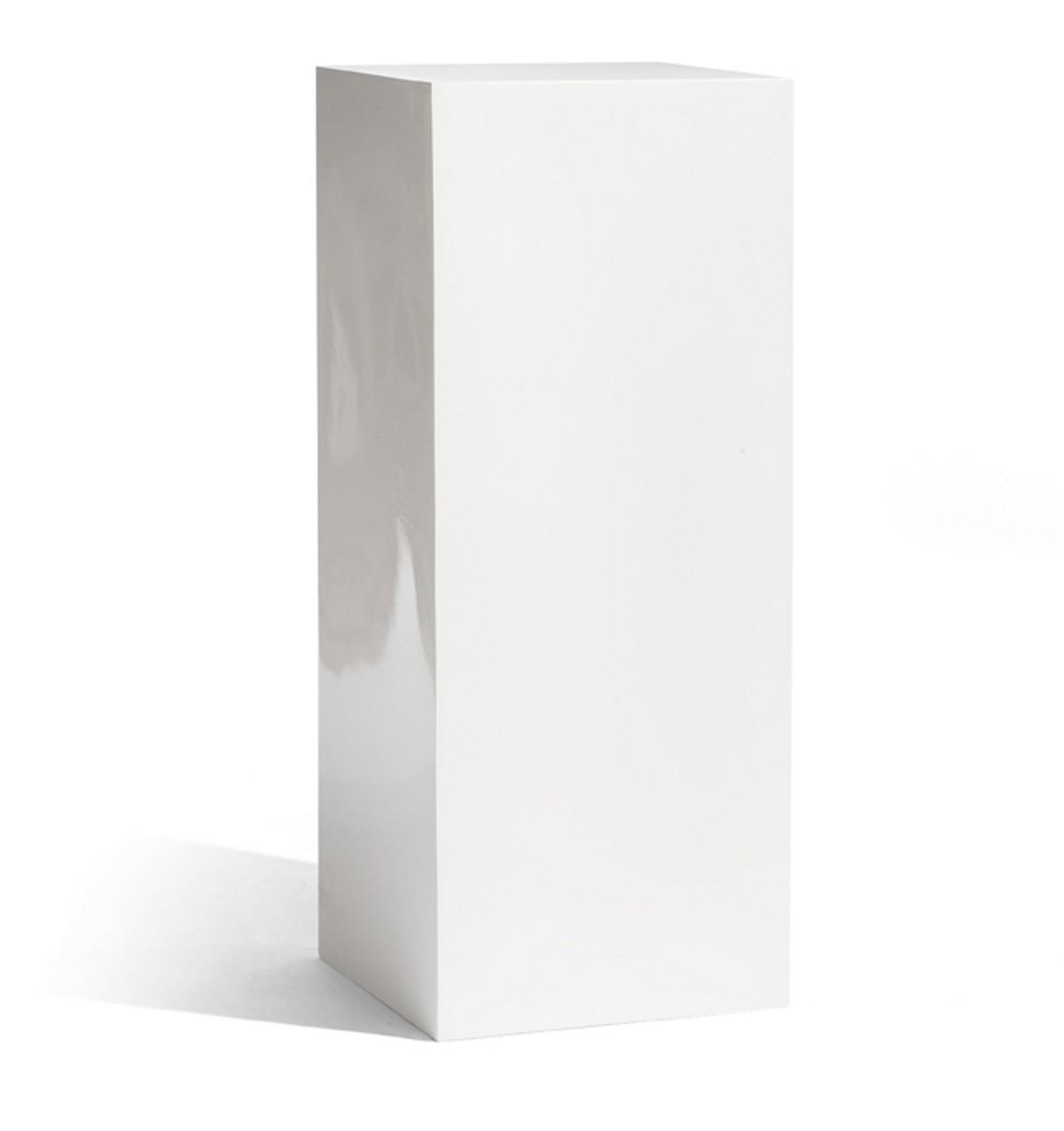 socle cube 100 de manutti blanc. Black Bedroom Furniture Sets. Home Design Ideas