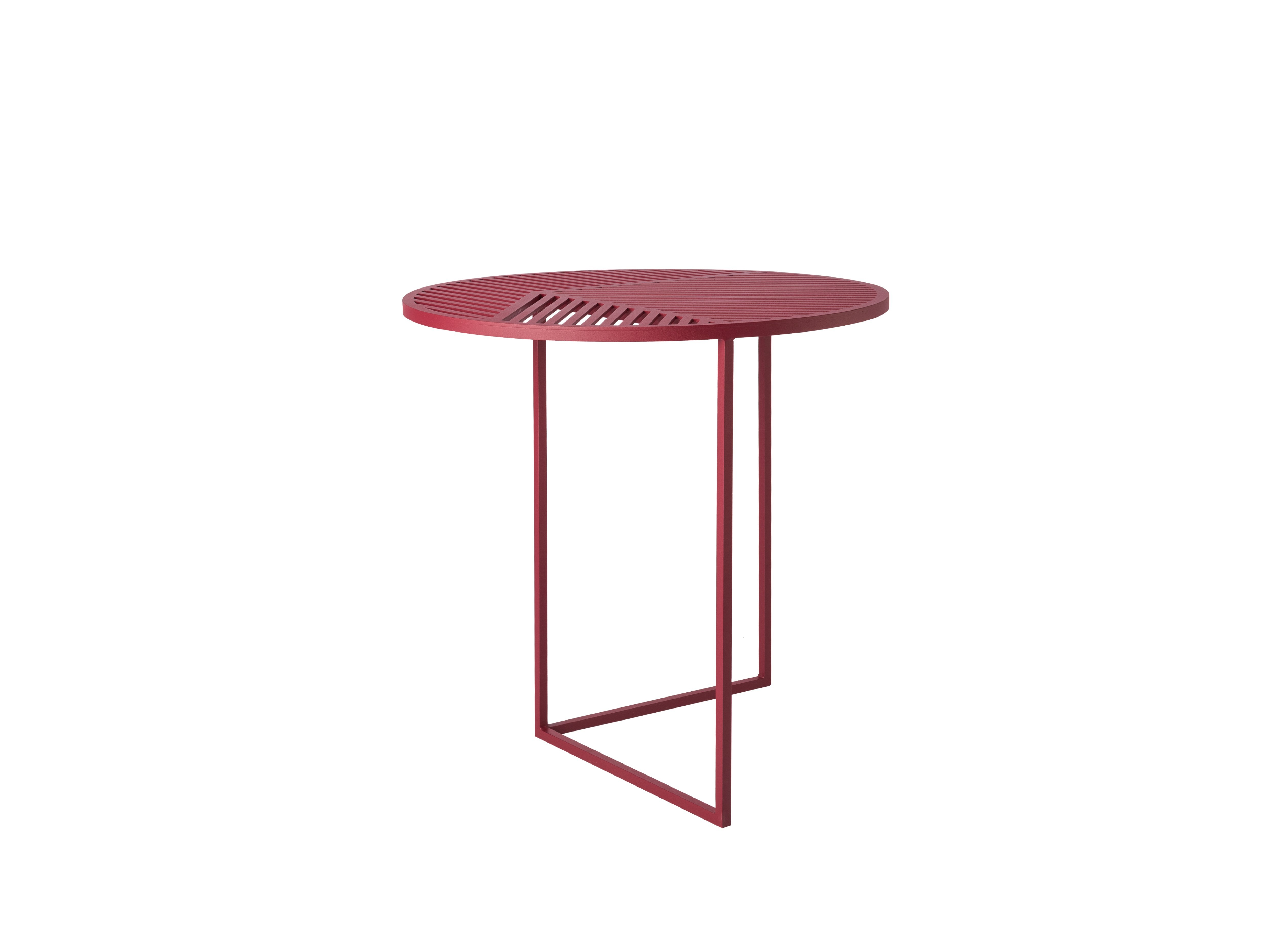 table dappoint ronde iso a de petite friture bordeaux - Table D Appoint Ronde