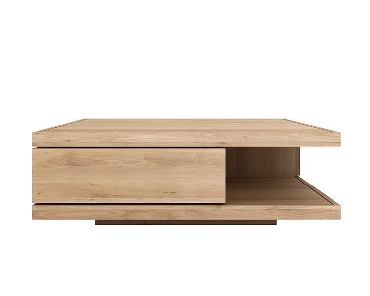 table basse oak flat d 39 ethnicraft 2 tailles. Black Bedroom Furniture Sets. Home Design Ideas