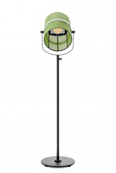 la lampe paris de maiori vert prairie structure noir. Black Bedroom Furniture Sets. Home Design Ideas