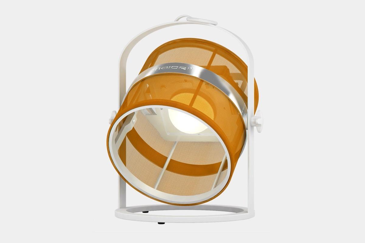 la lampe petite de maiori orange structure blanc. Black Bedroom Furniture Sets. Home Design Ideas