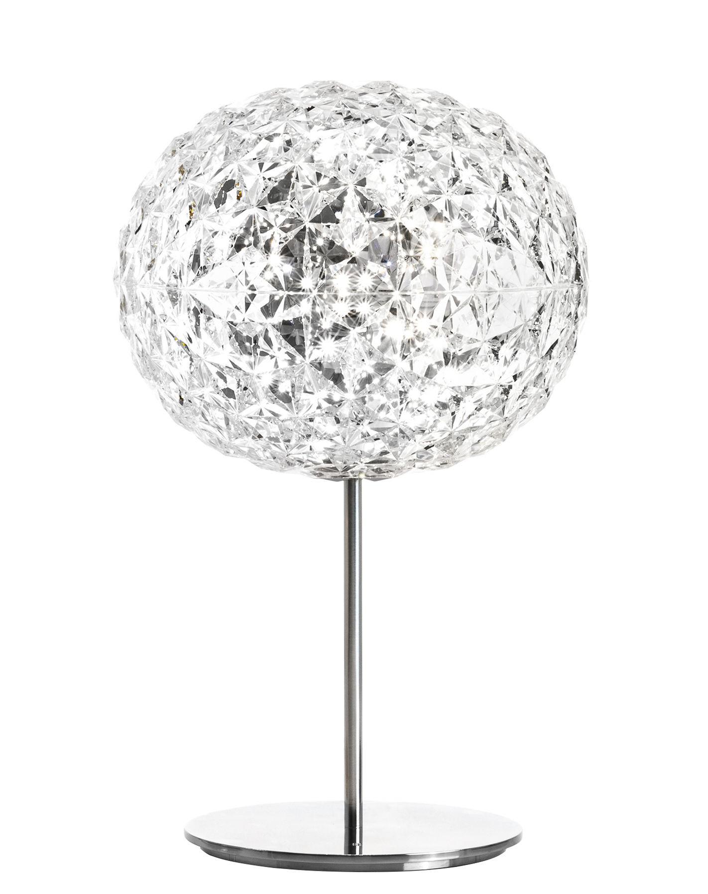 lampe poser planet de kartell cristal. Black Bedroom Furniture Sets. Home Design Ideas
