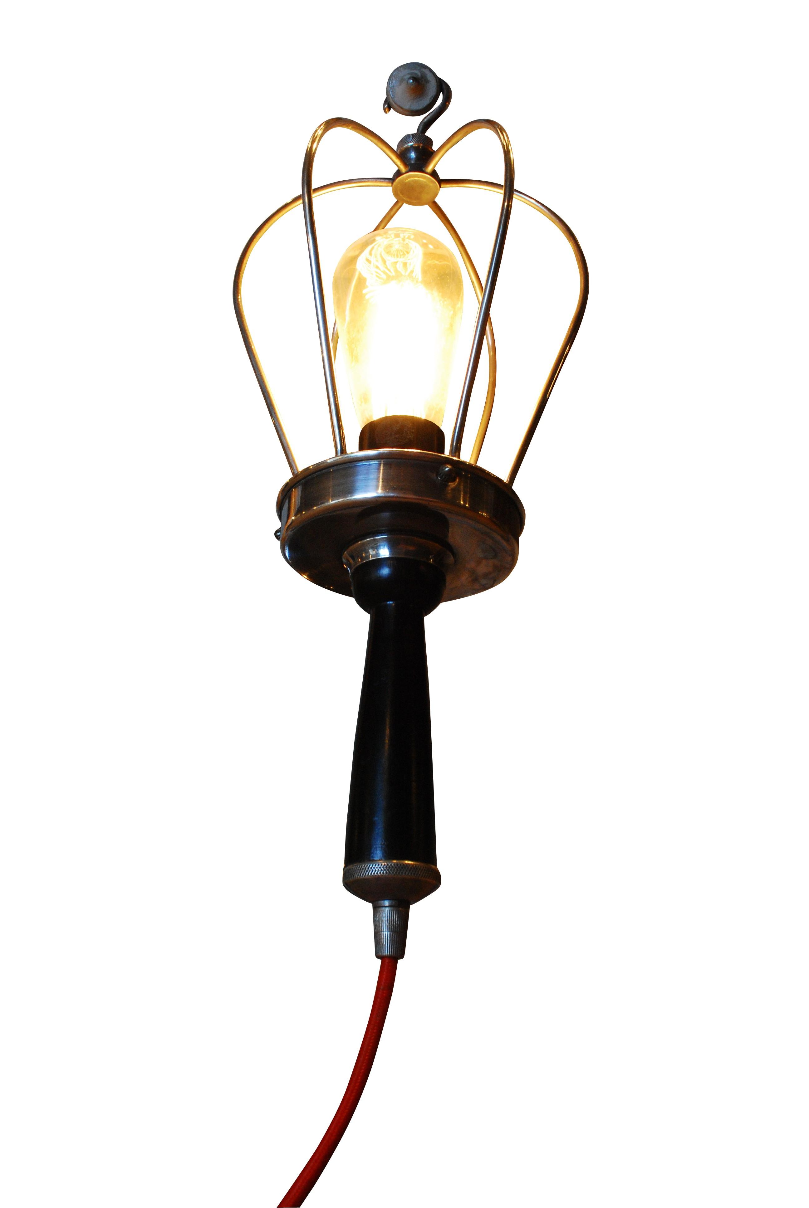 lampe baladeuse c ble rouge