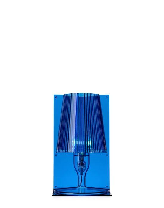 lampe take de kartell bleu. Black Bedroom Furniture Sets. Home Design Ideas
