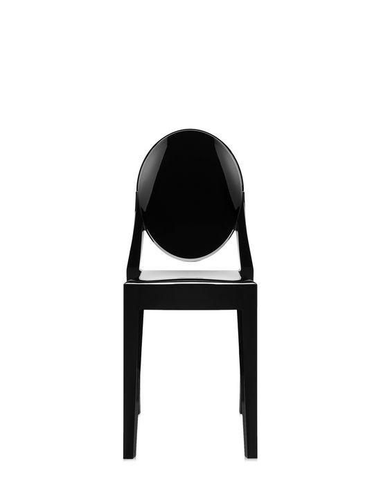 Chaise Victoria Ghost De Kartell Noir