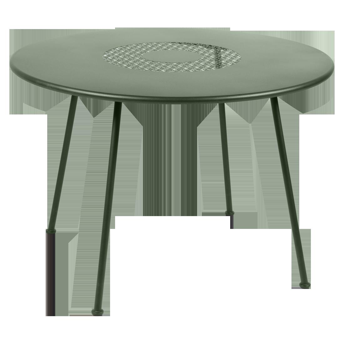 Table Ronde 110 Cm.Table Ronde Lorette O 110 Cm De Fermob Cactus