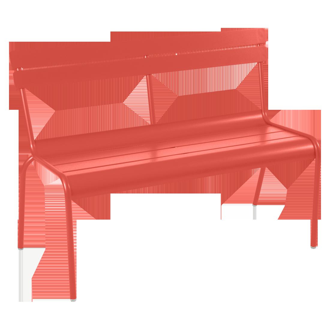 fermob banc avec dossier luxembourg. Black Bedroom Furniture Sets. Home Design Ideas