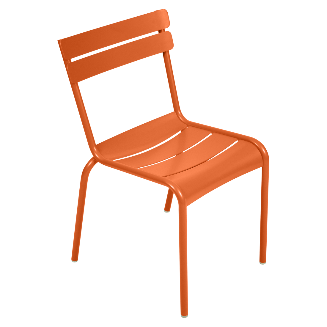 chaise luxembourg de fermob carotte. Black Bedroom Furniture Sets. Home Design Ideas