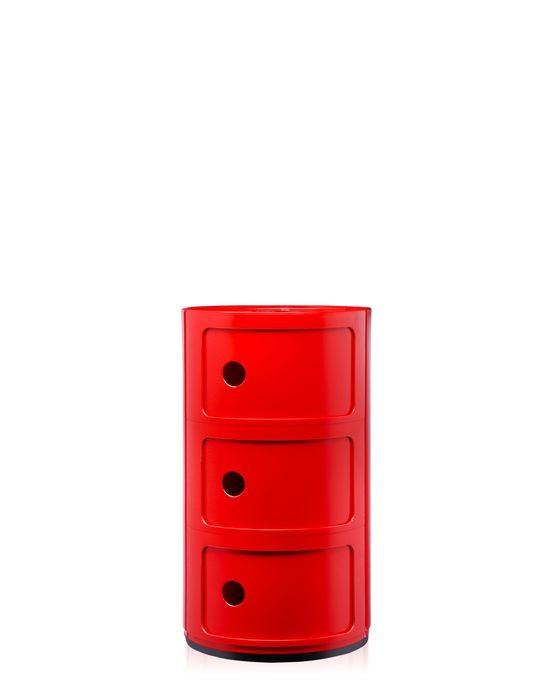 Meuble de rangement componibili de kartell moyen mod le for Meuble de rangement rouge