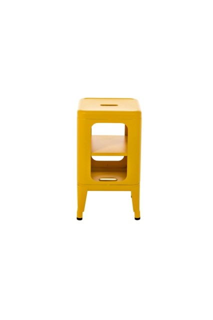 meuble tabouret mt500 de tolix citron. Black Bedroom Furniture Sets. Home Design Ideas