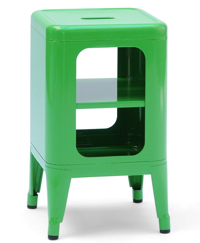meuble tabouret mt500 de tolix vert. Black Bedroom Furniture Sets. Home Design Ideas