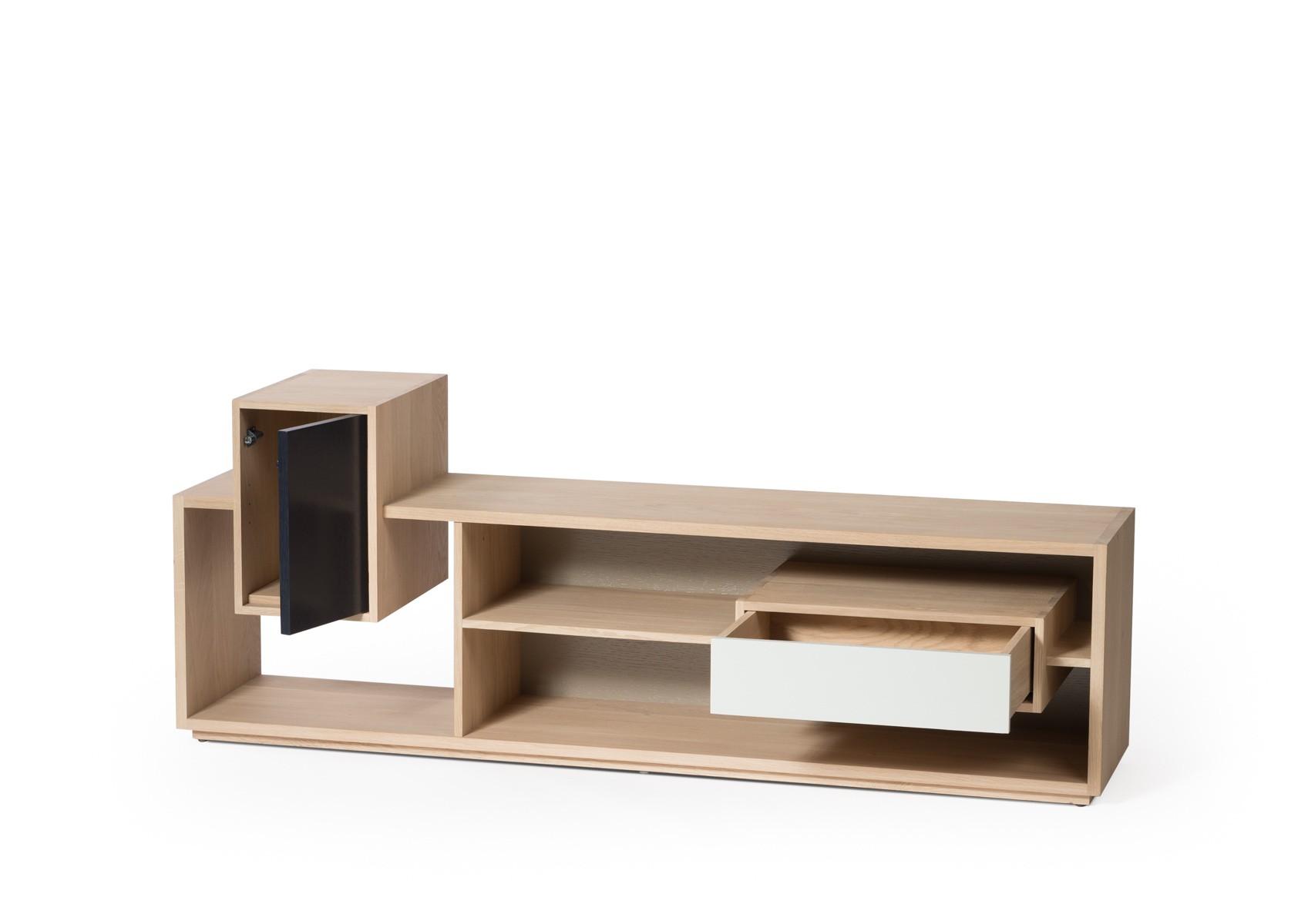 meuble tv mixage de drugeot manufacture. Black Bedroom Furniture Sets. Home Design Ideas