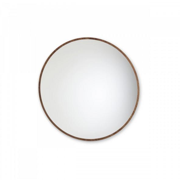 miroir bulle de sarah lavoine 120 noyer. Black Bedroom Furniture Sets. Home Design Ideas