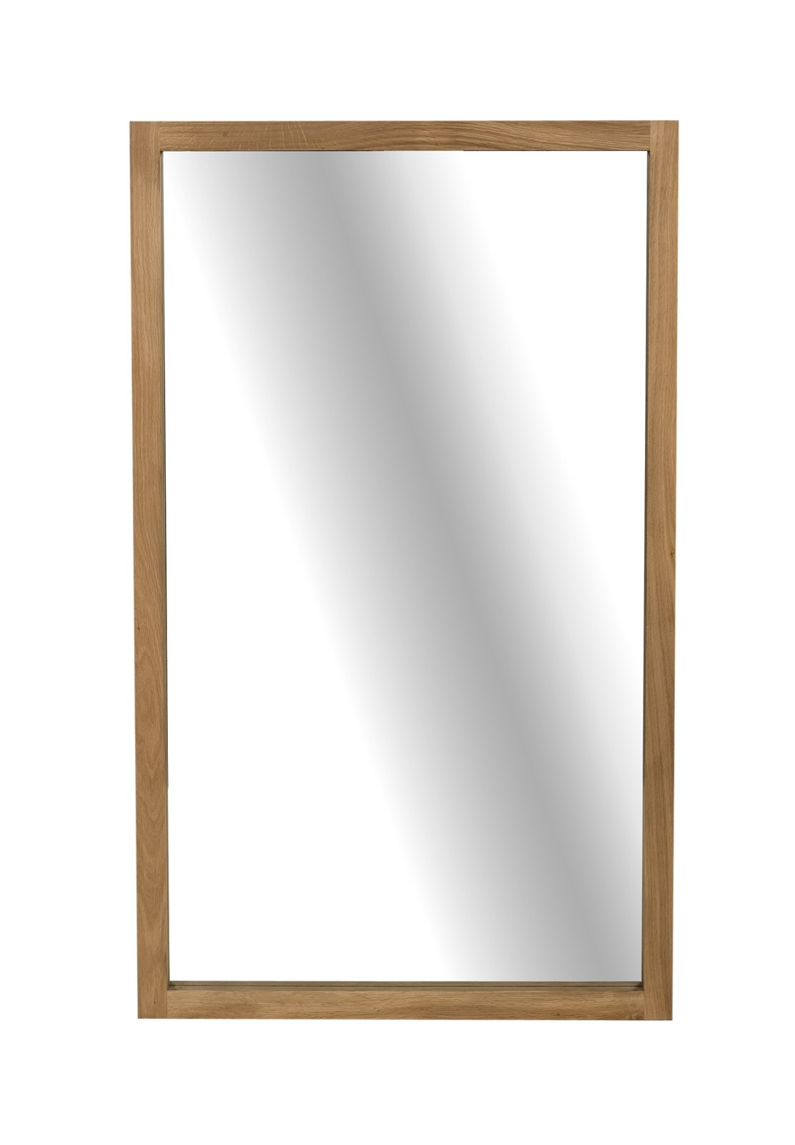 Light frame miroir en ch ne d 39 ethnicraft hauteur 150cm for Miroir 1 metre