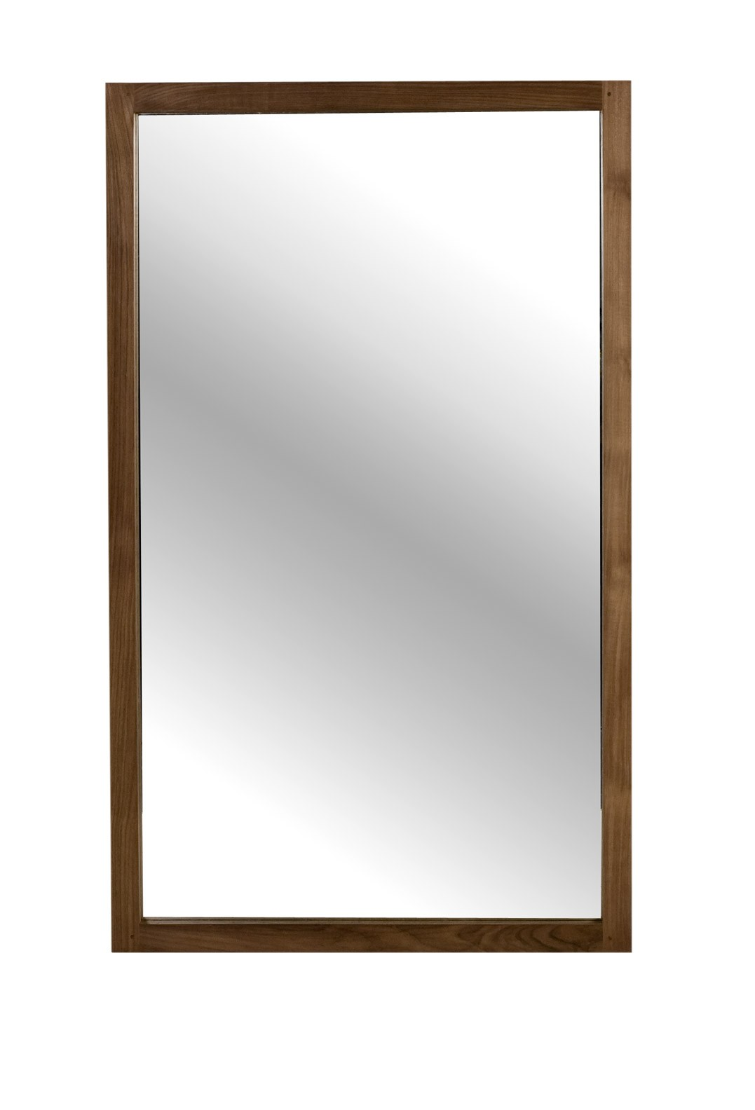 Light frame d 39 ethnicraft miroir hauteur 150cm for Miroir 1 metre
