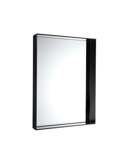 Miroir only me de kartell noir opaque x x p 9 for Miroir 50 70