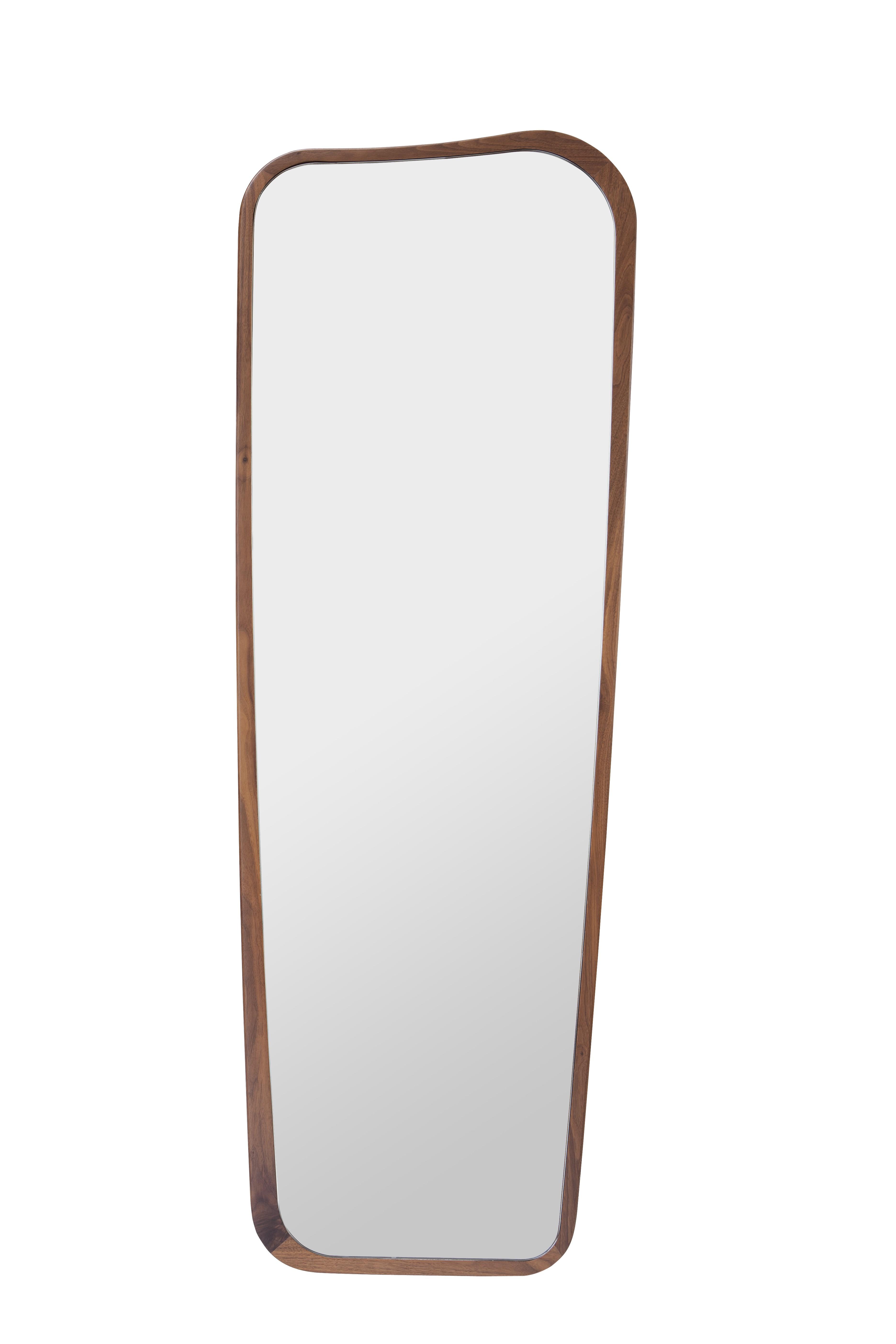 Miroir organique de sarah lavoine 50 x 140 noyer - Miroir sarah lavoine ...