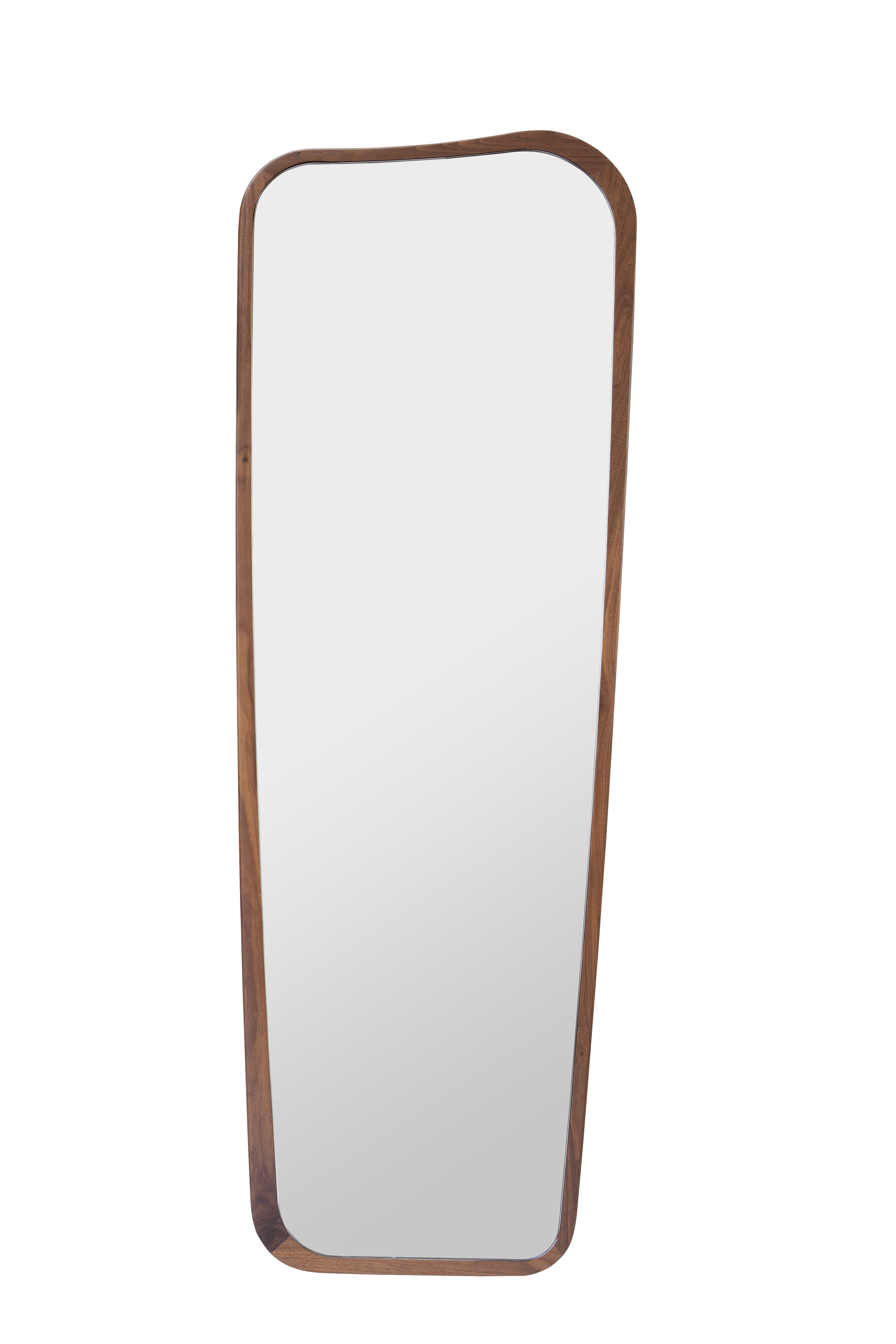 Miroir organique de sarah lavoine 50 x 140 noyer for Sarah riani miroir miroir