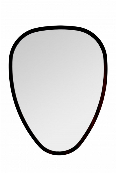 Miroir ovo de sarah lavoine 69 x 90 ch ne noir for Miroir 50 x 90