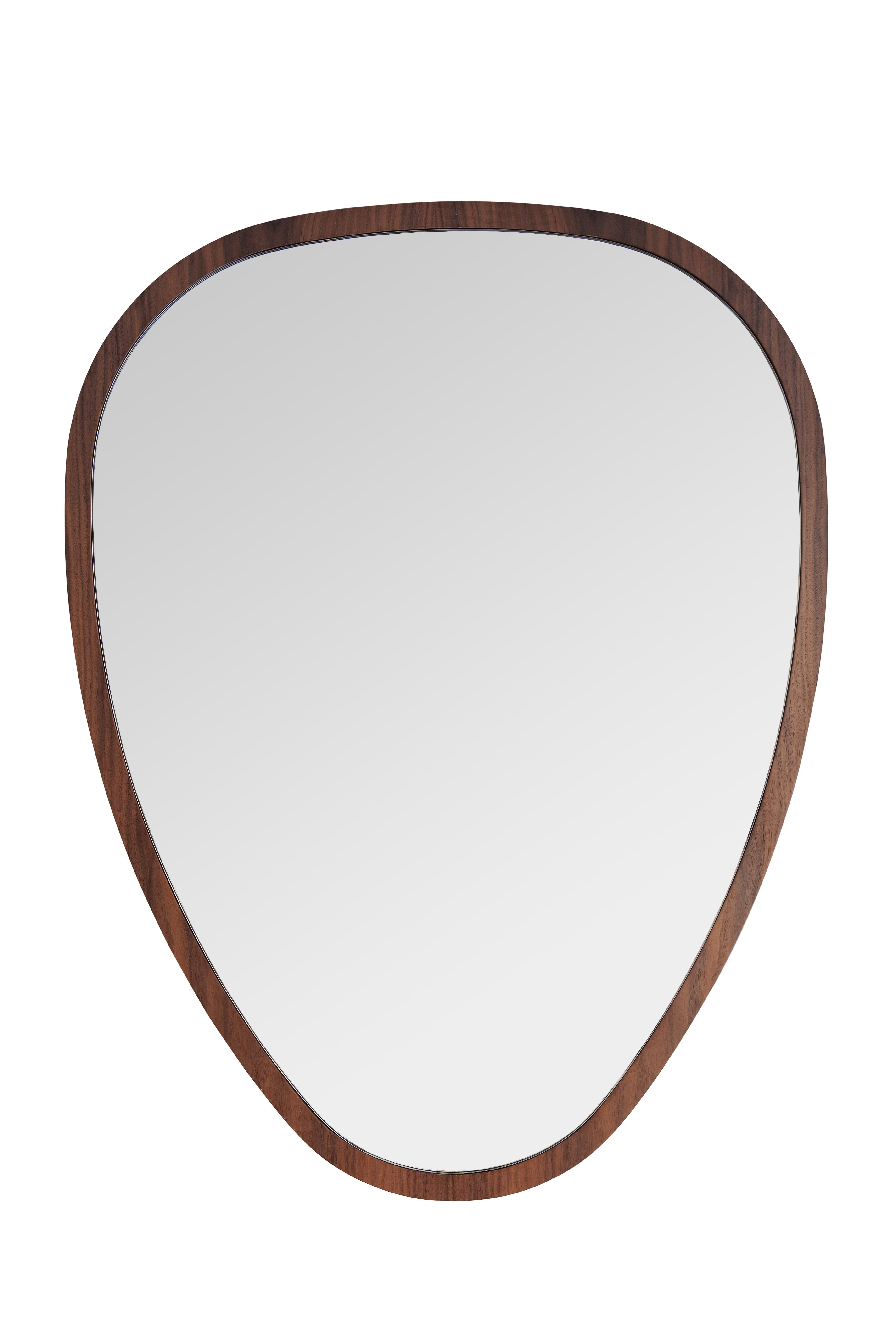 Miroir ovo de sarah lavoine 69 x 90 noyer - Miroir sarah lavoine ...