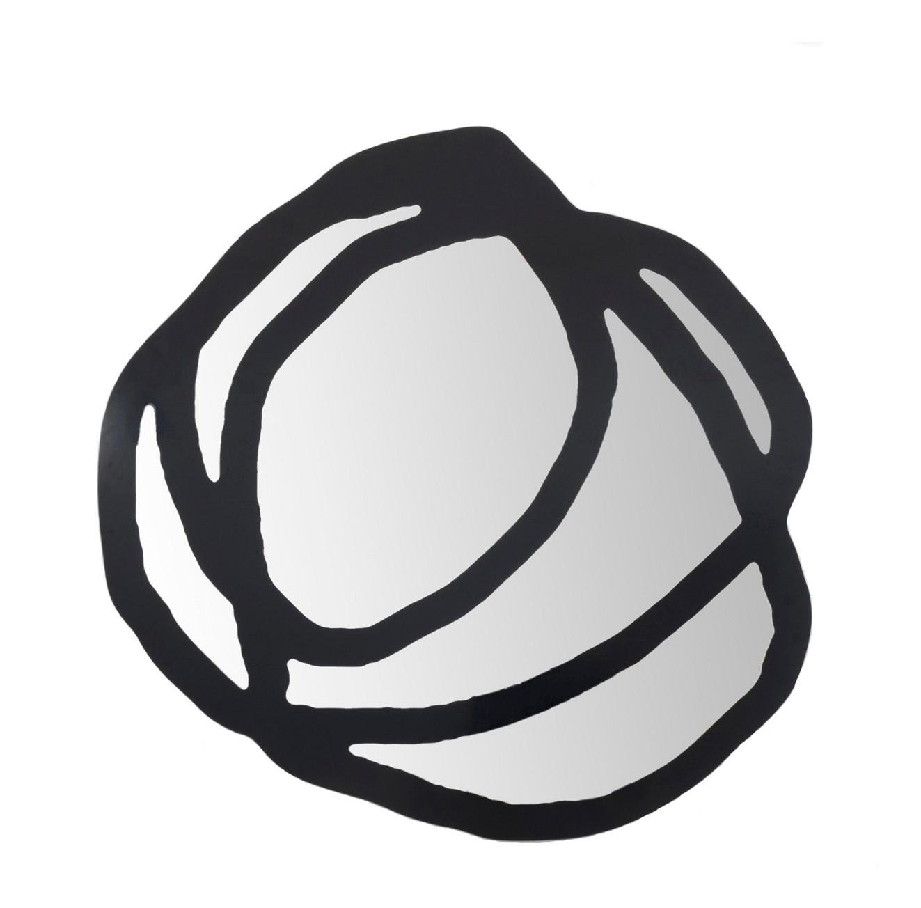 Miroir sweet 98 de gervasoni petit mod le noir for Petit miroir noir