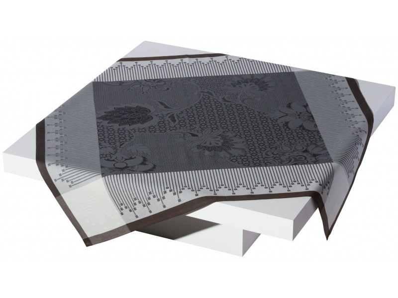 nappe 175x250 palais persian le jacquard fran ais gris. Black Bedroom Furniture Sets. Home Design Ideas