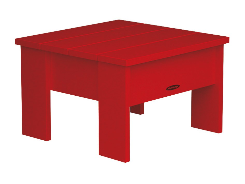 Table basse new england de royal botania rouge for Table basse rouge