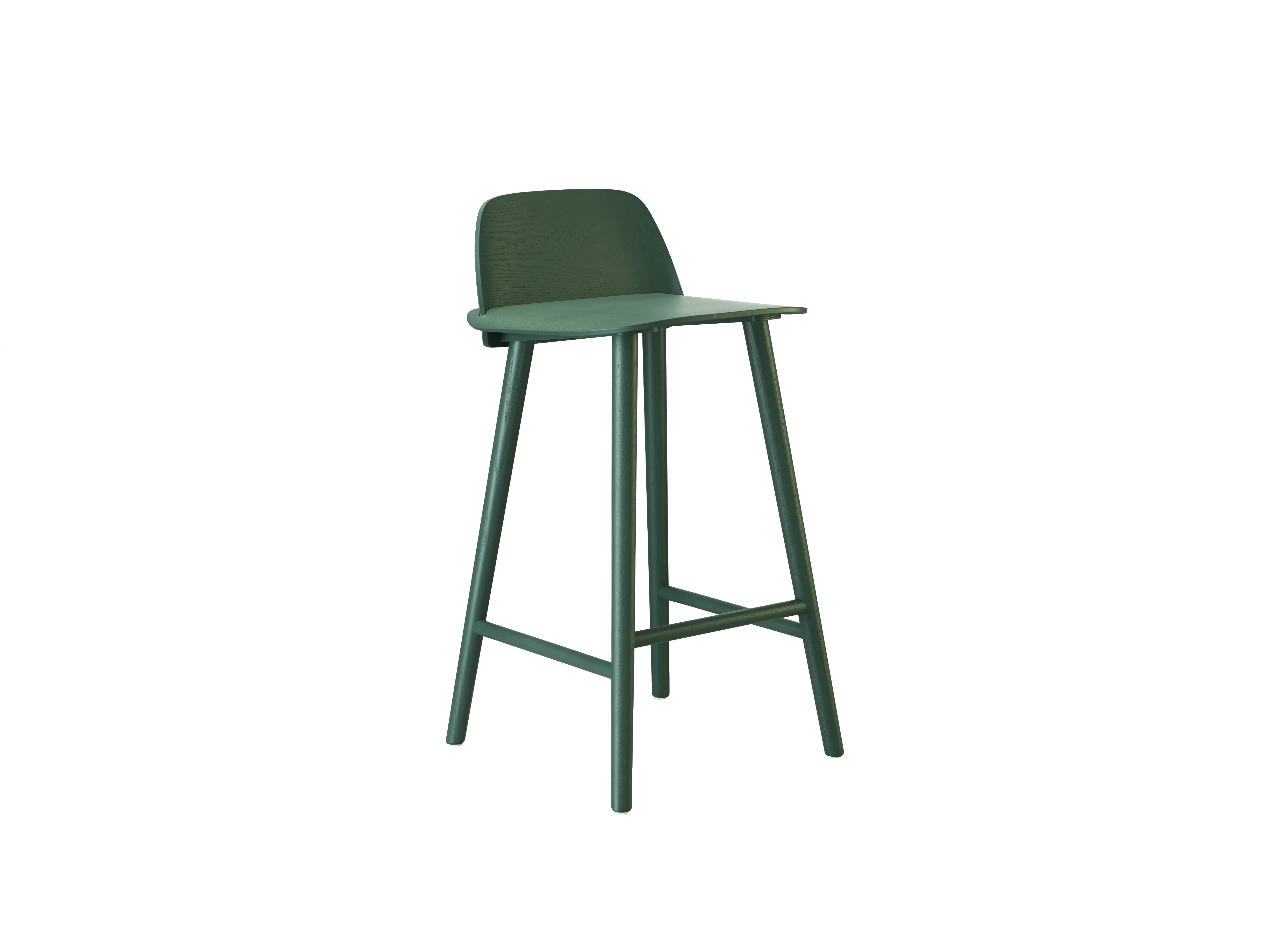 tabouret de bar nerd de muuto vert. Black Bedroom Furniture Sets. Home Design Ideas