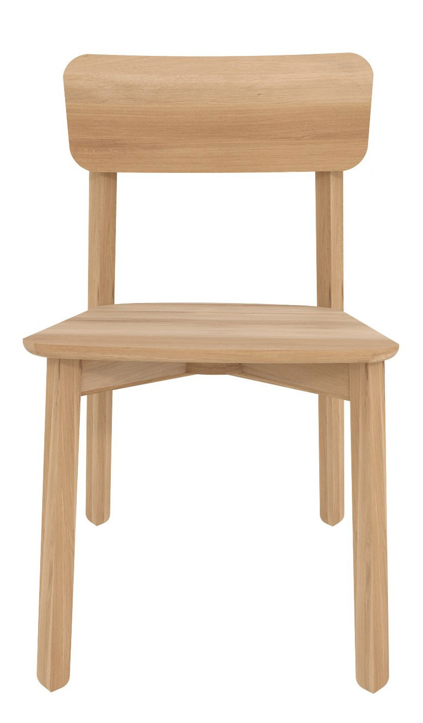 chaise m en ch ne d 39 ethnicraft. Black Bedroom Furniture Sets. Home Design Ideas