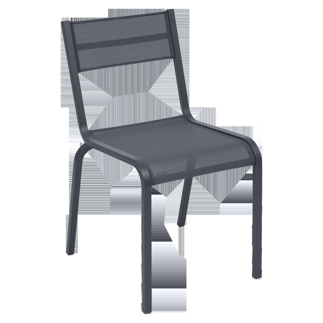 Chaise OLÉRON de Fermob, Carbone