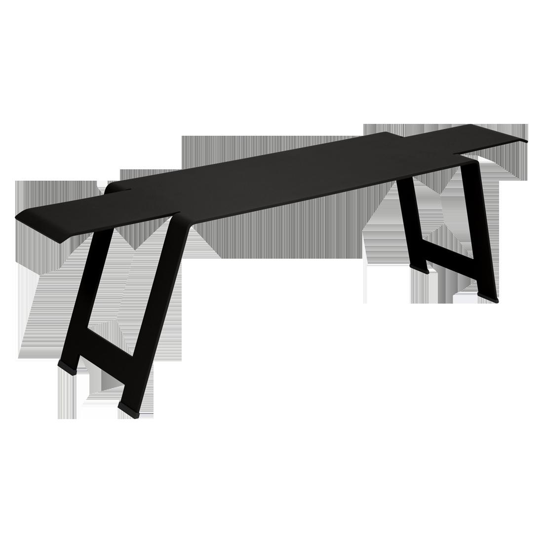 banc origami acier de fermob 24 coloris. Black Bedroom Furniture Sets. Home Design Ideas