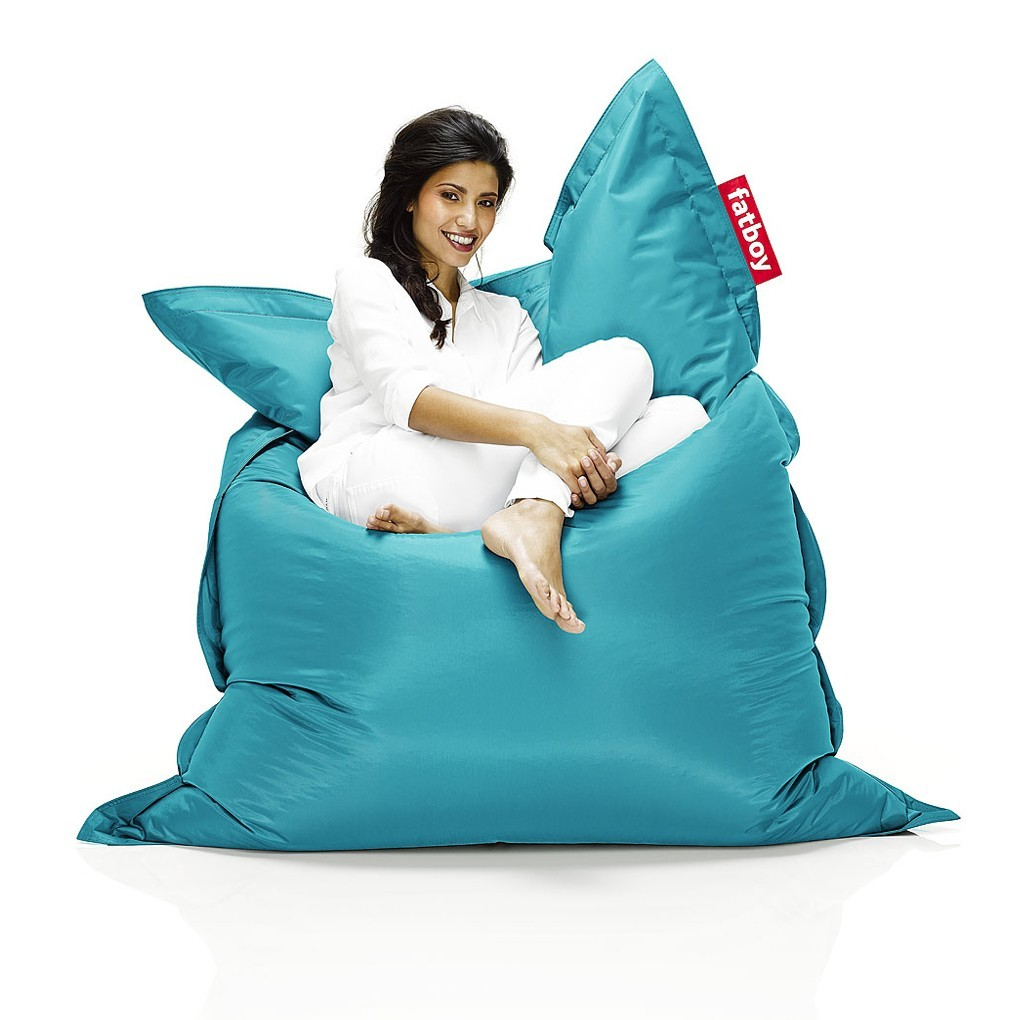 fatboy pouf the original fatboy indoor turquoise. Black Bedroom Furniture Sets. Home Design Ideas