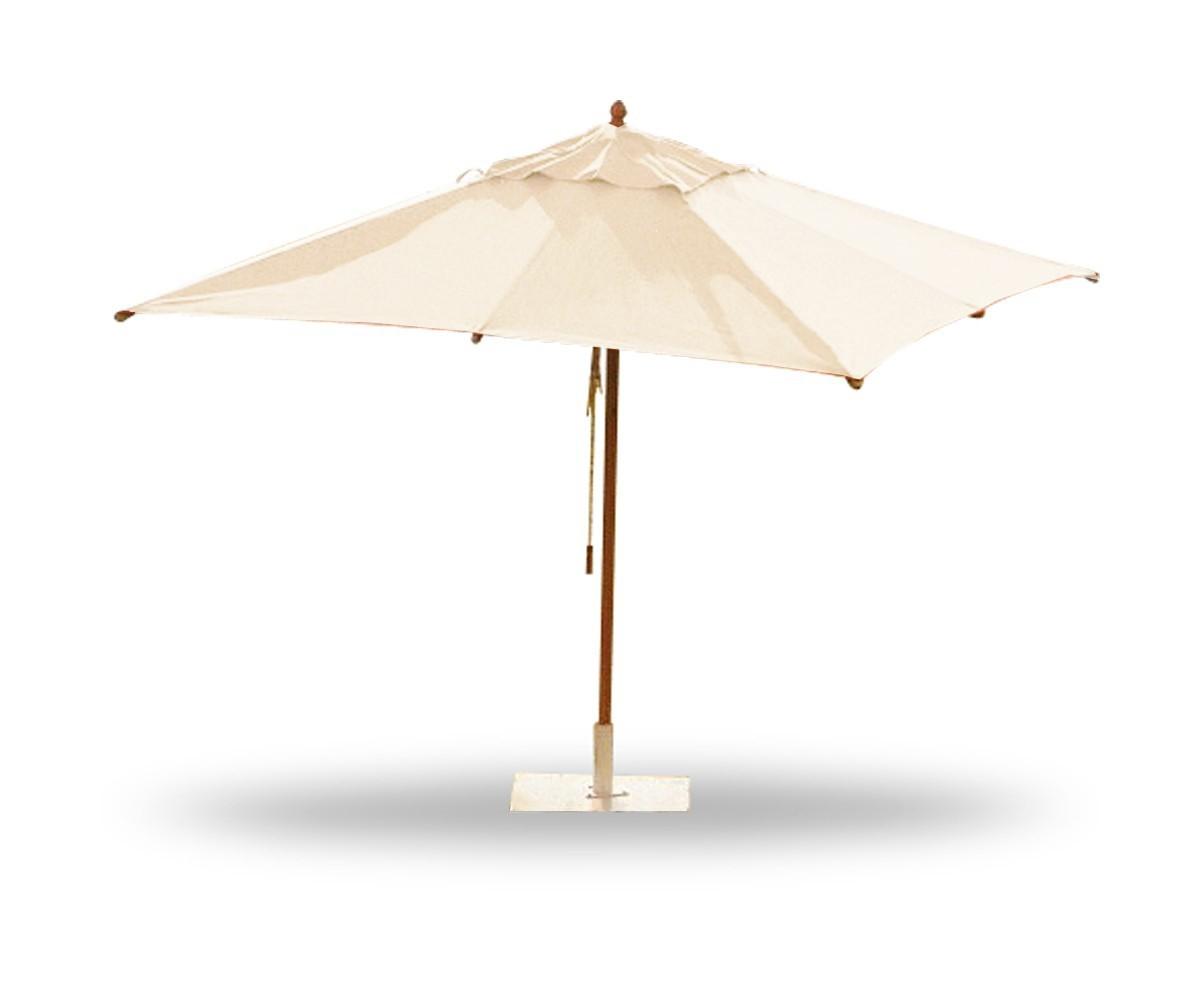 Parasol carré Taupe 290x290