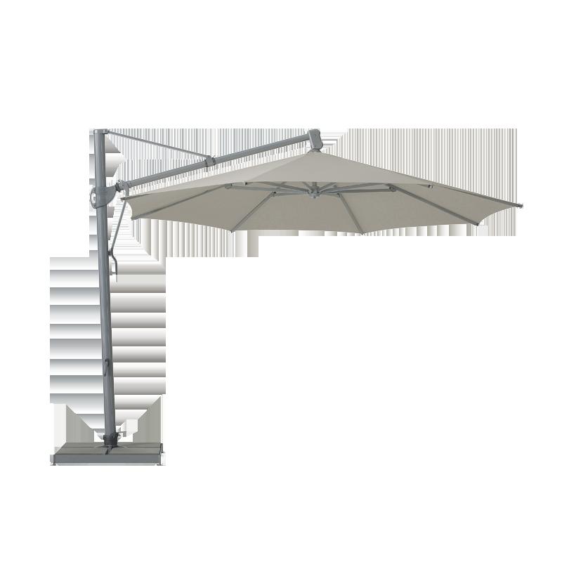 parasol d centr sombrano easy de glatz gris d 350. Black Bedroom Furniture Sets. Home Design Ideas