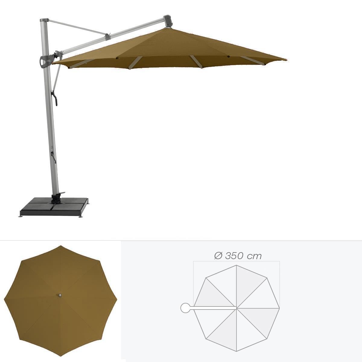 glatz parasol d centr sombrano de glatz rond cm caf au lait. Black Bedroom Furniture Sets. Home Design Ideas