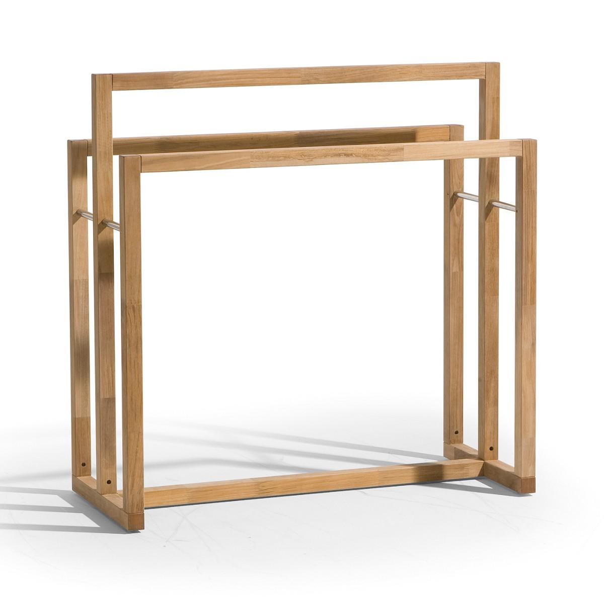 Serviettes SIENA De Manutti - Porte serviette en bois