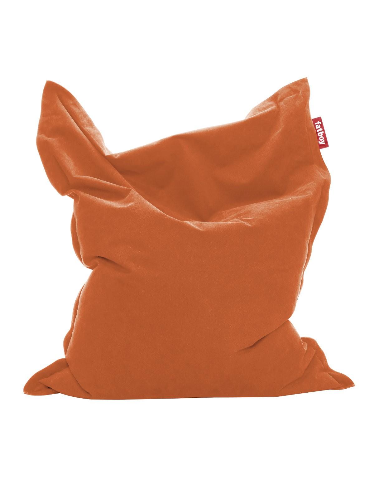 pouf the original stonewashed de fatboy orange. Black Bedroom Furniture Sets. Home Design Ideas