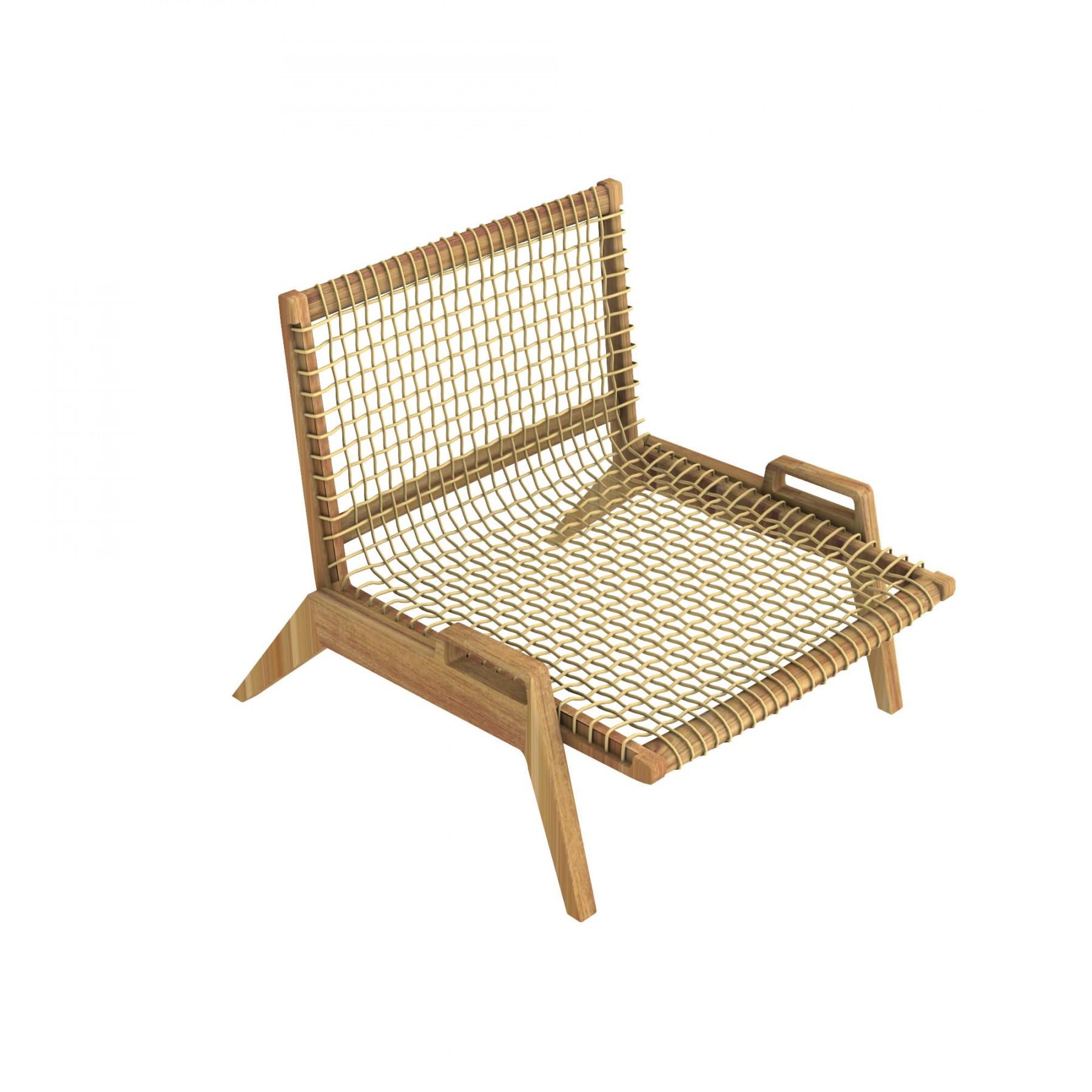 fauteuil lounge synthesis de unopiu 39. Black Bedroom Furniture Sets. Home Design Ideas