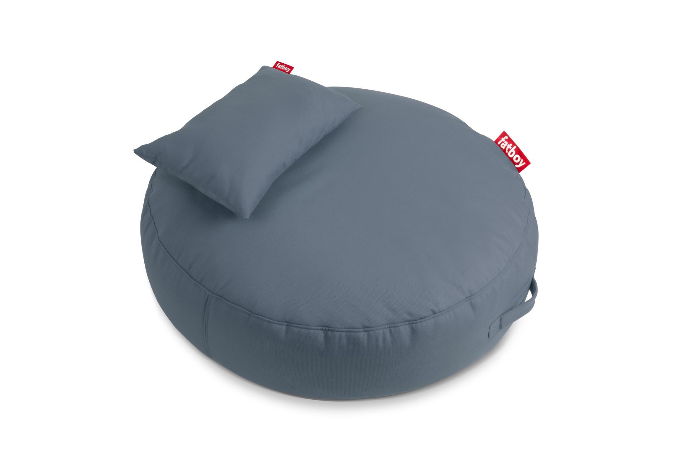 pouf pupillow de fatboy steel blue. Black Bedroom Furniture Sets. Home Design Ideas